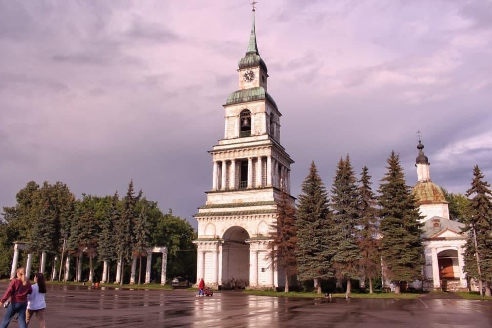 В Кировской области началась реставрация колокольни Спасо-Преображенского собора