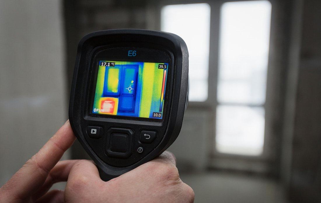 Специалисты Кировэнерго провели тепловизионную диагностику здания и системы отопления образовательного учреждения