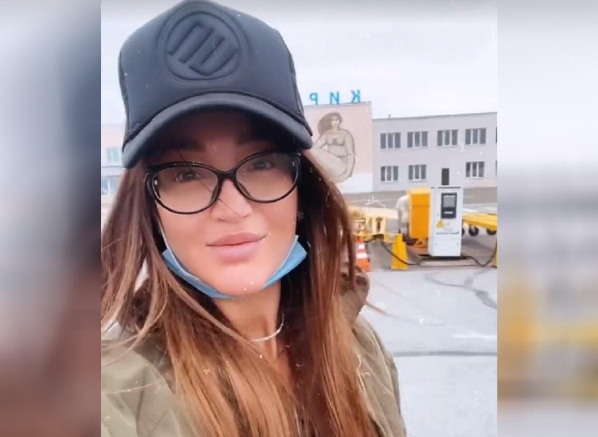 Ольга Бузова приехала в Киров. Её уже успели порадовать поклонники