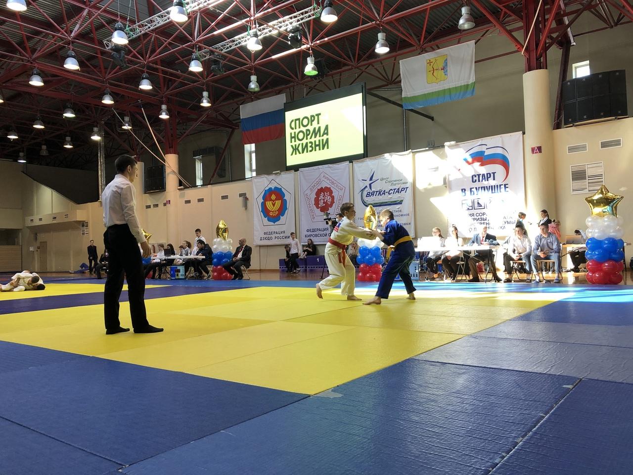 В Кирове прошли соревнования по дзюдо