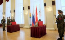 В Кирове состоялась церемония возвращения останков солдат, погибших в Великую Отечественную войну