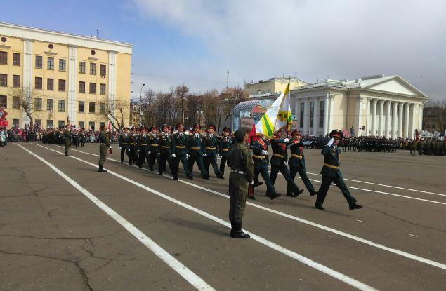 Известно расписание репетиций Парада Победы в Кирове