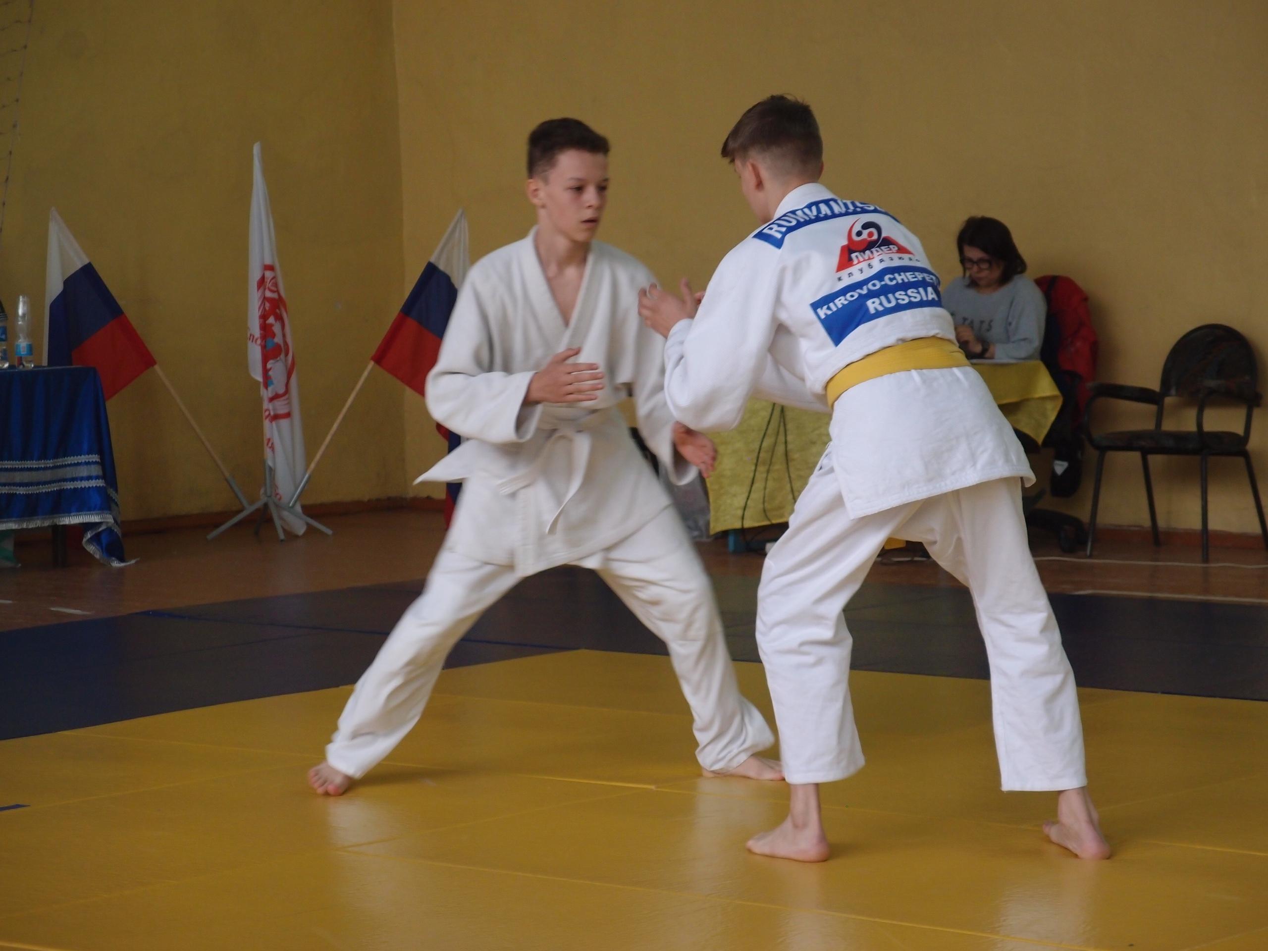 В мае Вятских Полянах пройдет межрегиональный турнир по дзюдо