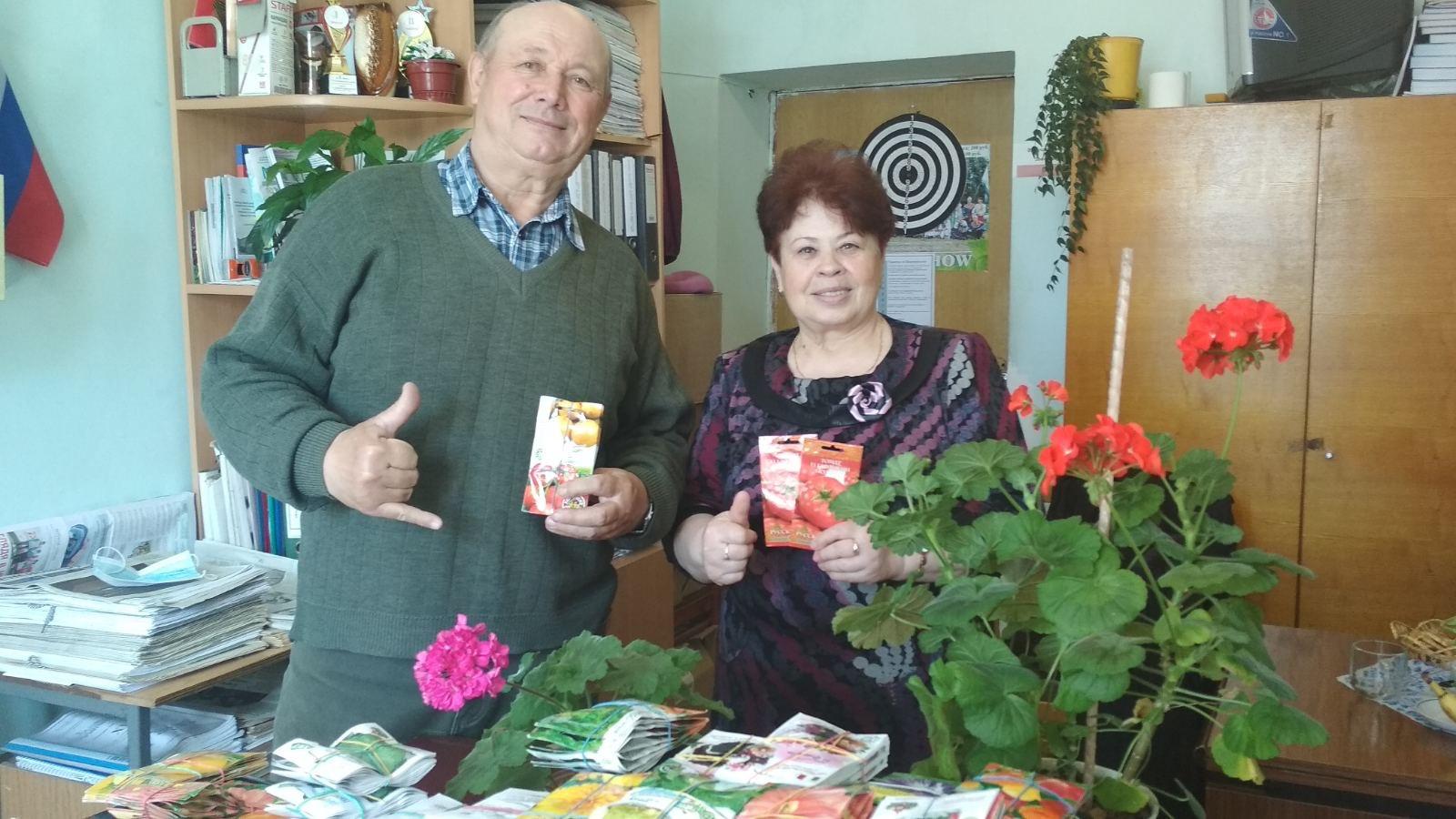 Ветераны Уржумского района примут участие в конкурсе «Украсим Родину цветами!»