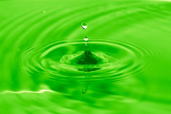Зеленый краситель помог найти утечки на тепловых сетях