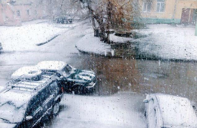 На этих выходных в Кирове вновь может пойти снег