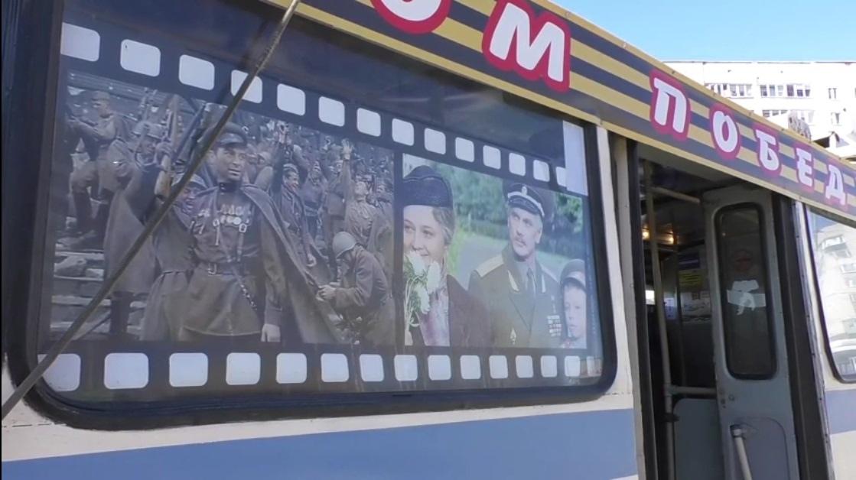 В Кирове водитель украсил троллейбус ко Дню Победы