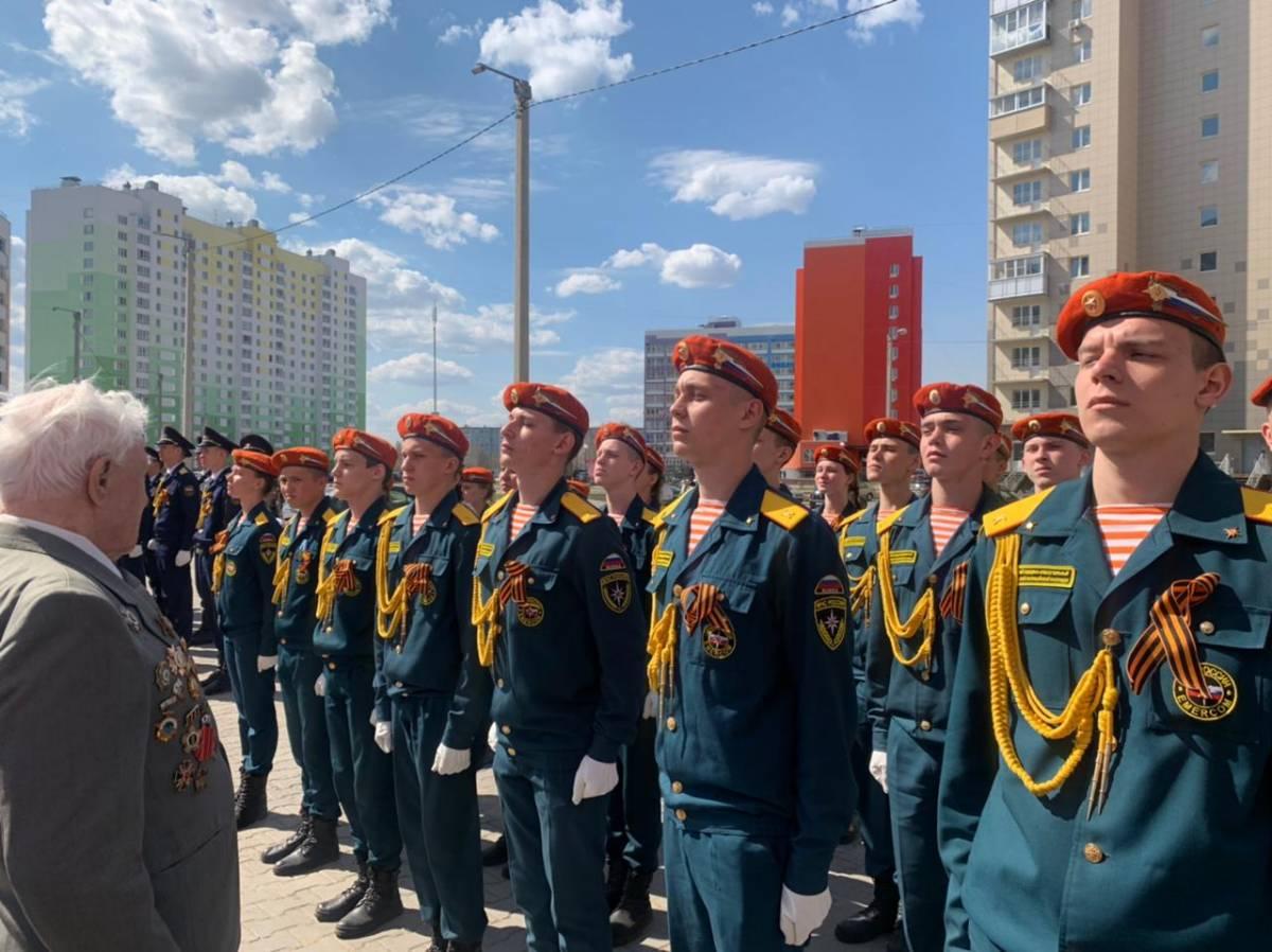 Для ветеранов Великой Отечественной войны прошли парады Победы