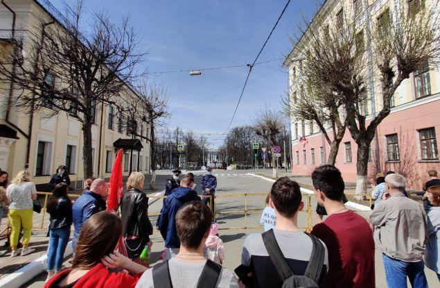 Парад Победы-2021 в Кирове прошел в закрытом режиме