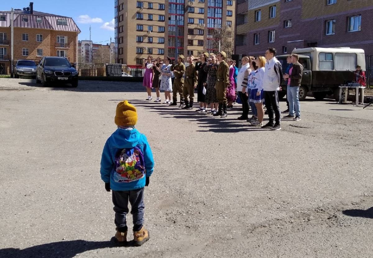 Кировчане присоединились к акции «Голос Победы»