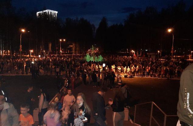 В Кирове запретили проводить светомузыкальное шоу за 30 минут до его начала
