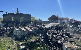 На пожаре в Слободском районе погиб 2-летний ребенок. Родителей дома не было