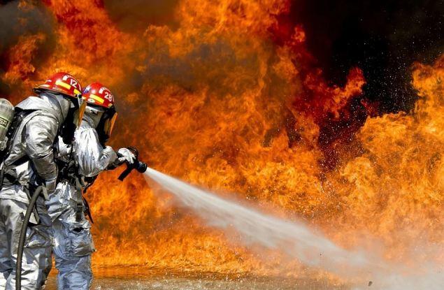 В Фаленках сгорело 20 гектаров леса