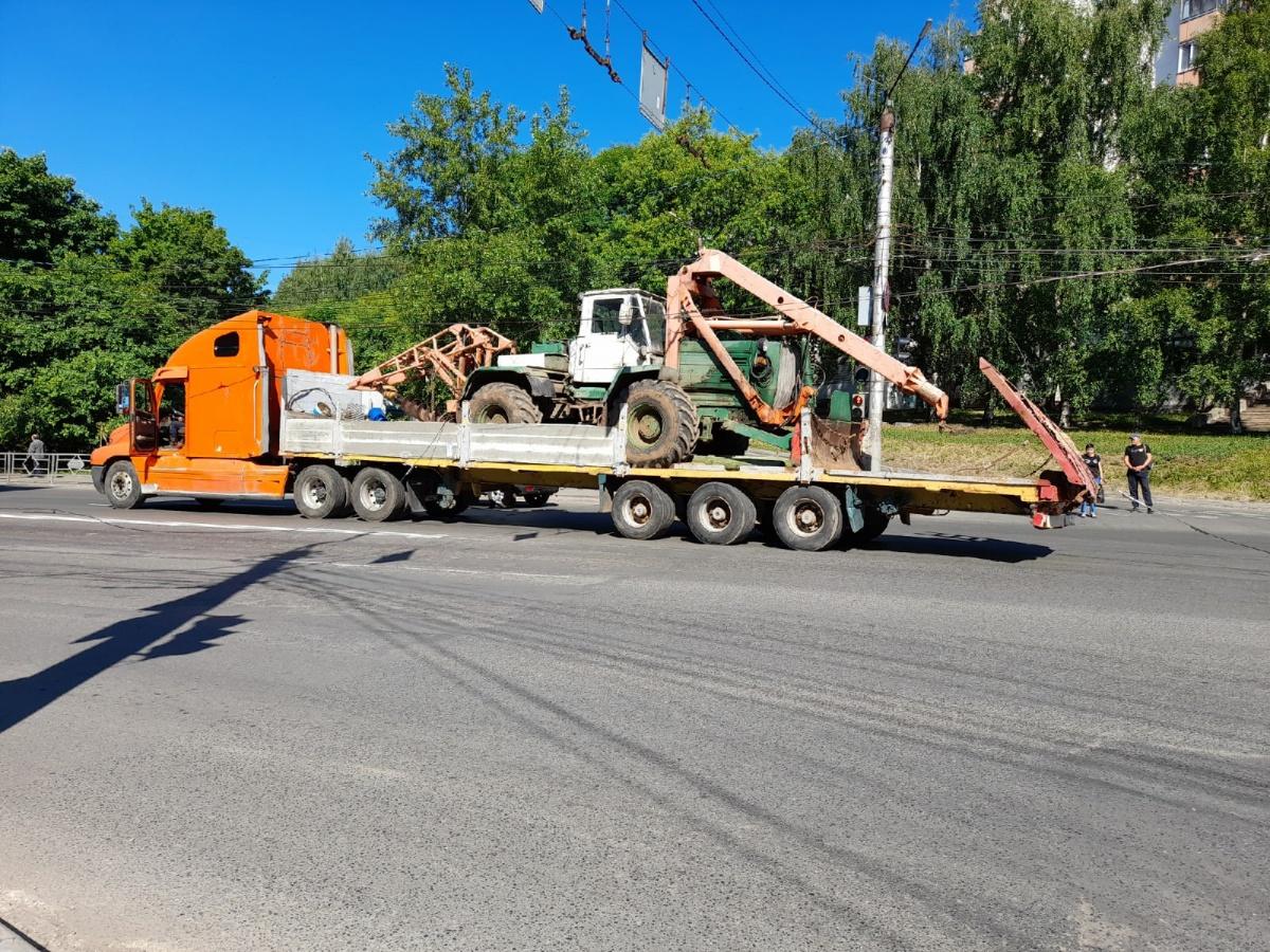 Троллейбусное движение по ул. Комсомольской остановилось