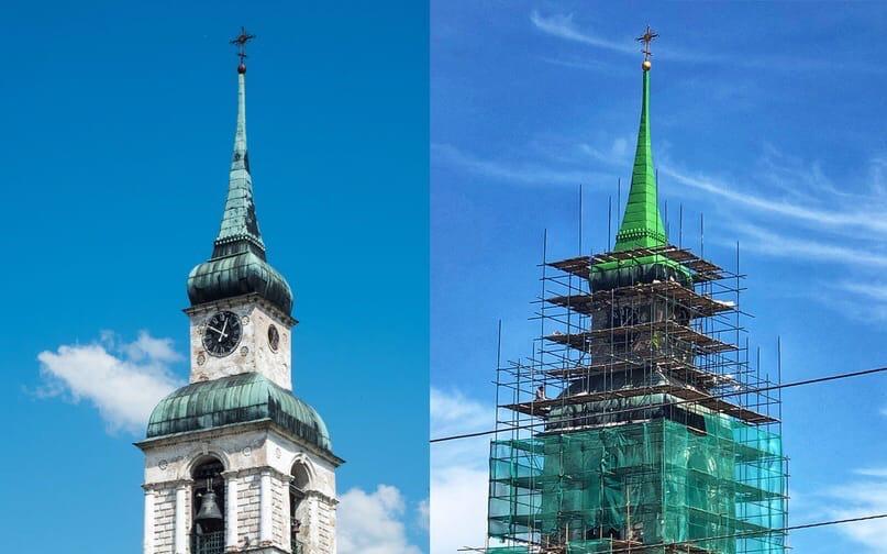 В Слободском разгорается скандал вокруг реставрации старинной колокольни