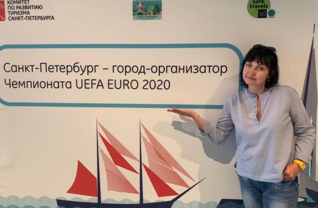 Корреспондент портала Kirov.ru работает на Euro-2020 в Санкт-Петербурге