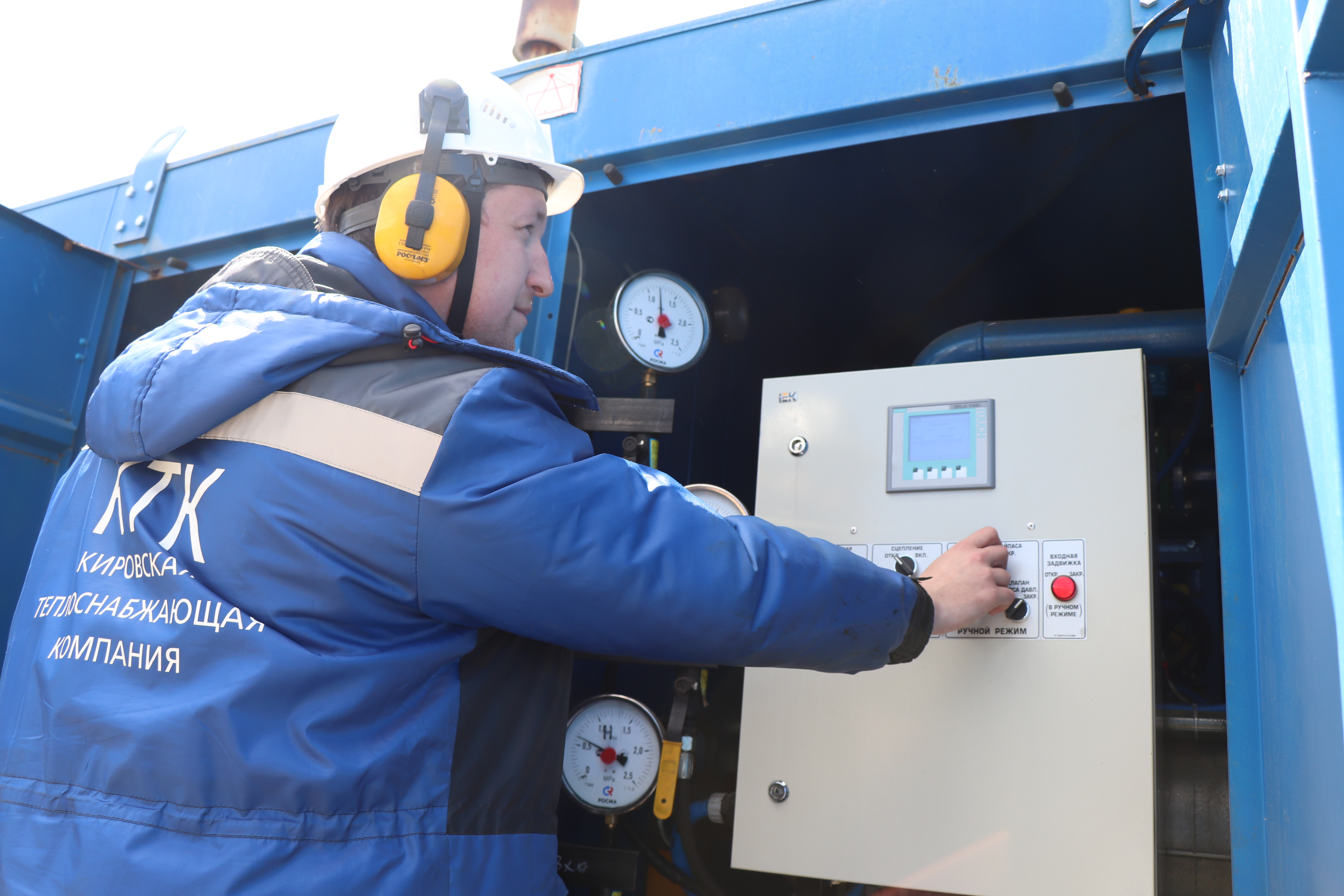 Половина участков теплосетей в Кирове испытана повышенным давлением