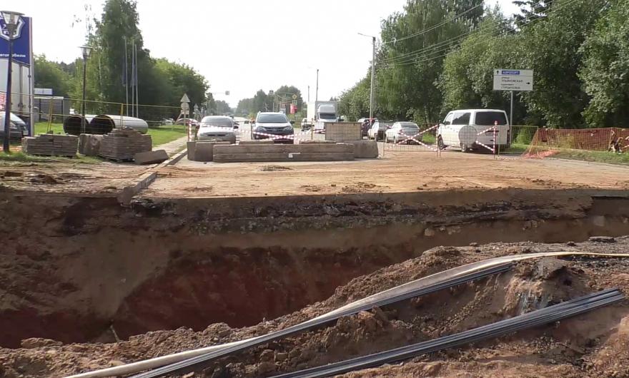Кировский филиал «Т Плюс» благоустраивает ремонтные раскопки с опережением к 2020 году