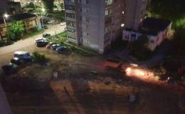 Жильцы домов на улице Сурикова жалуются на шум от дорожных работ по ночам