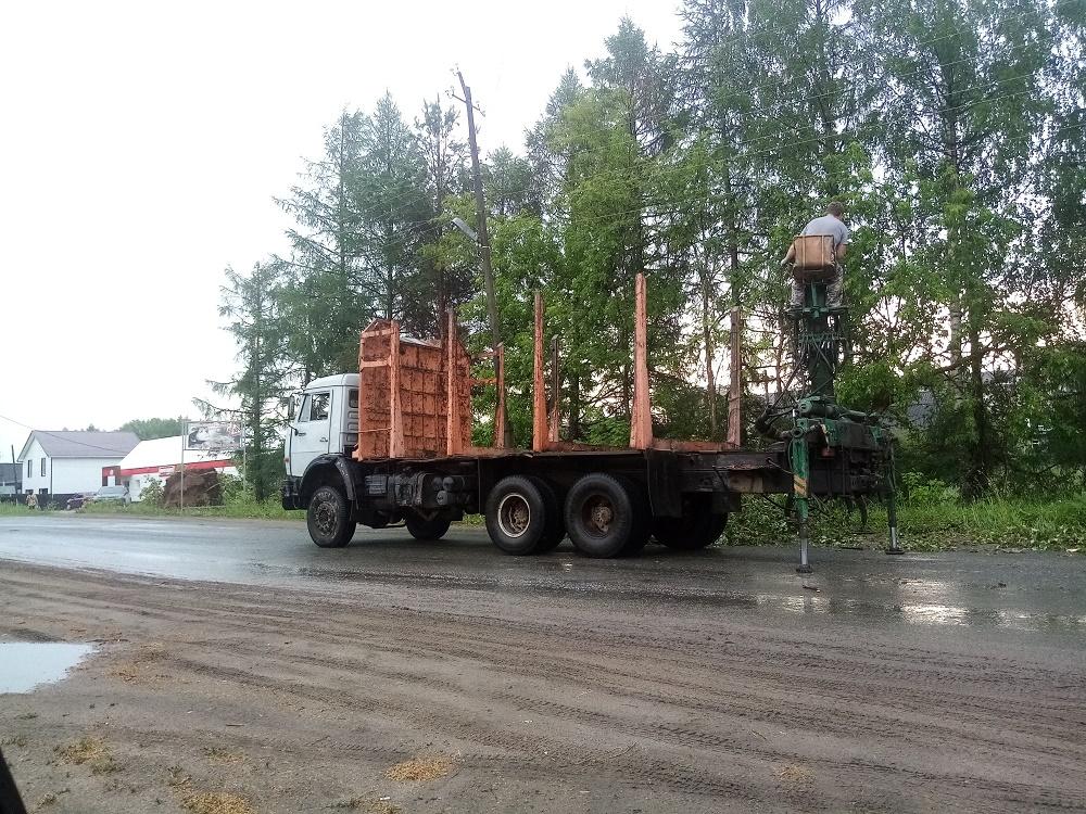 Два поселка Кировской области из-за грозы остались без электричества