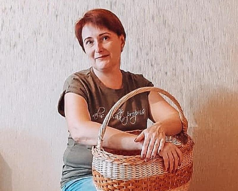 Ирина Слотина о любви к лозоплетению