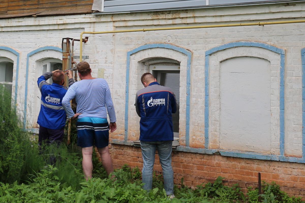 «Газпром межрегионгаз Киров» предупредил более 5 тысяч должников об отключении газоснабжения
