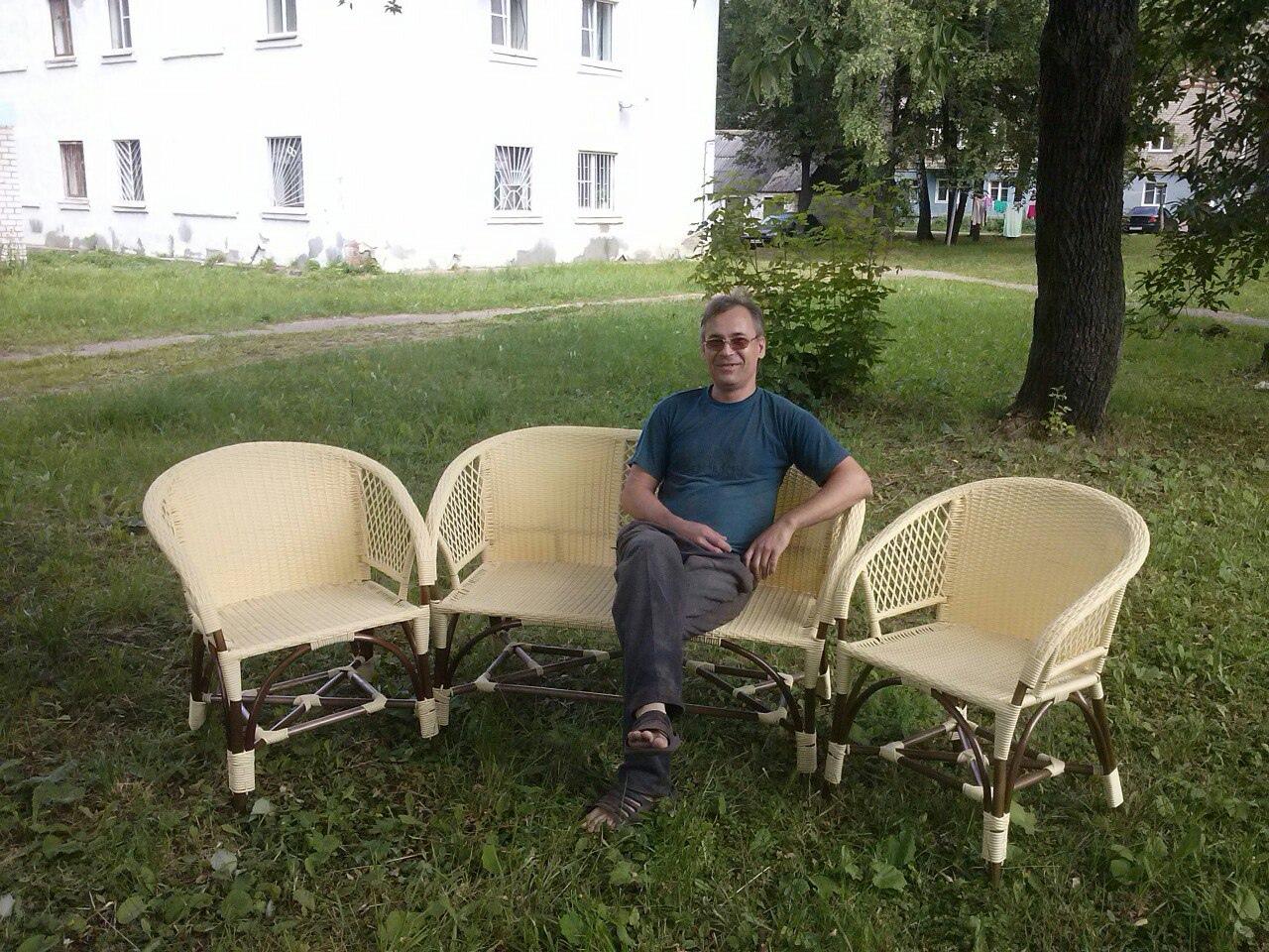 Сергей Самбулаткин - мастер народных художественных промыслов и участник «Ивы-Дивной»