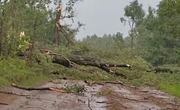 Вятскополянский район пострадал от буйства стихии