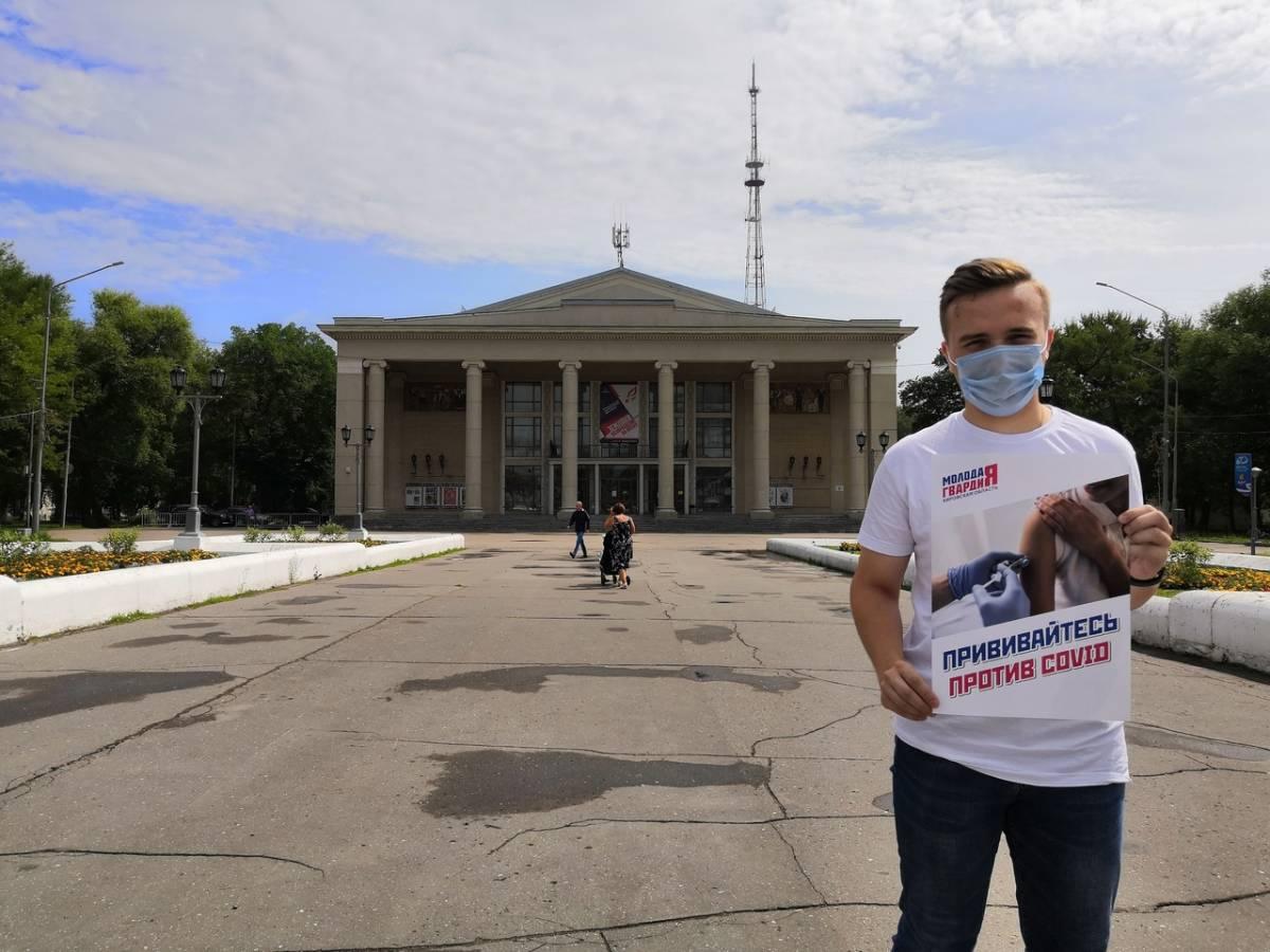 В Кирове проходят пикеты в поддержку вакцинации