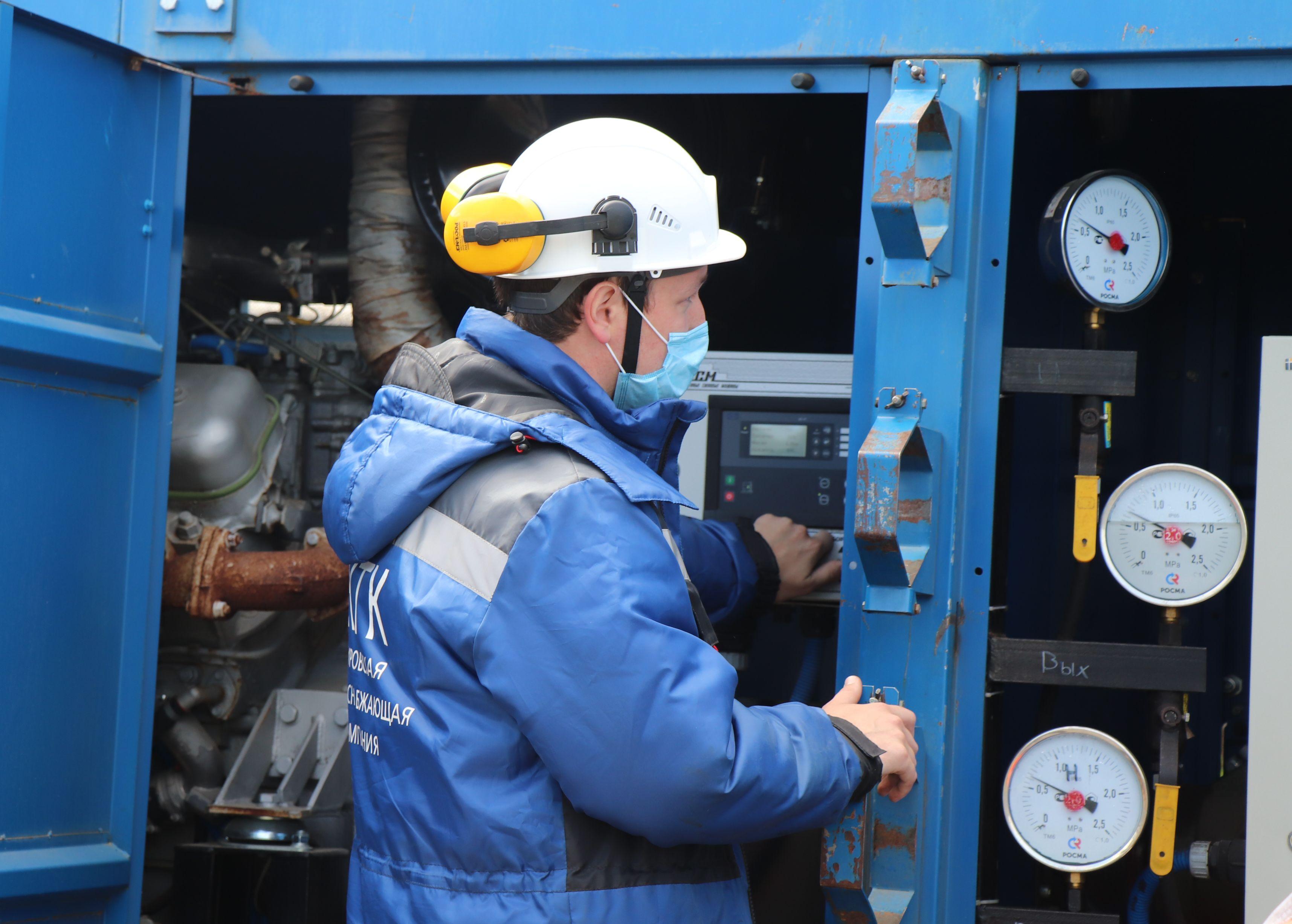 В Кирово-Чепецке проходят повторные гидравлические испытания после ремонта теплосетей