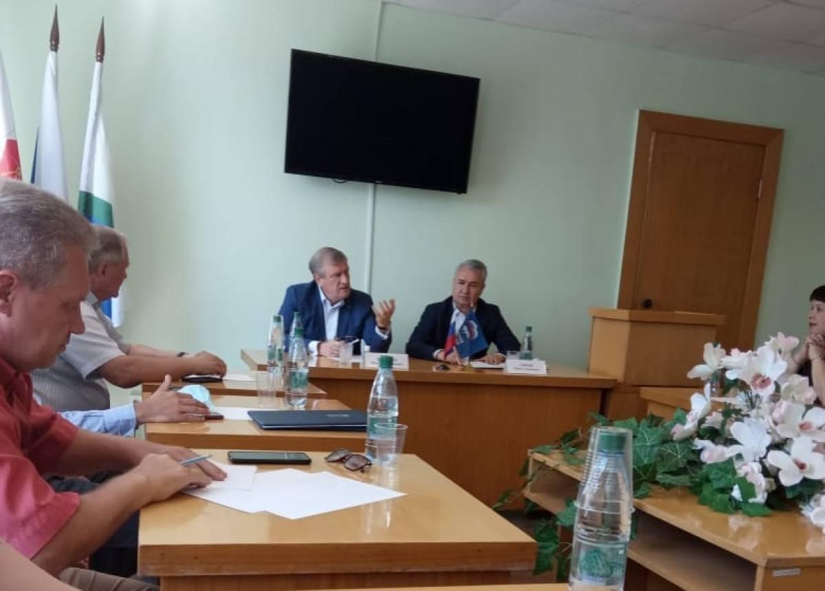 Игорь Васильев оценил реализацию партпроектов в Слободском районе