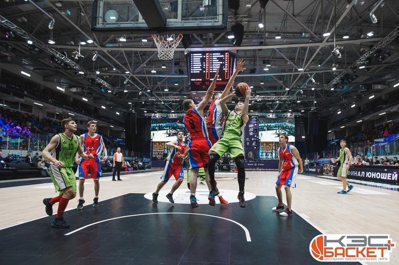 Чепецкие баскетболисты-школьники обыграли питерских!