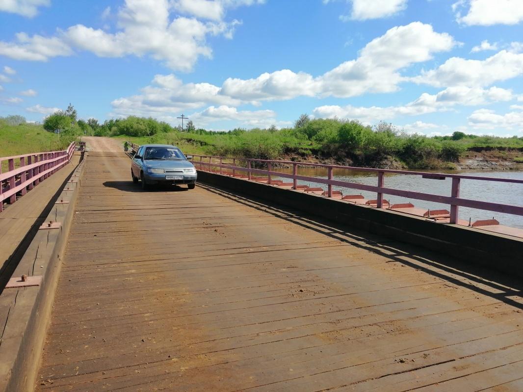 Наплавной мост на Каринторф закроют с 20 июля