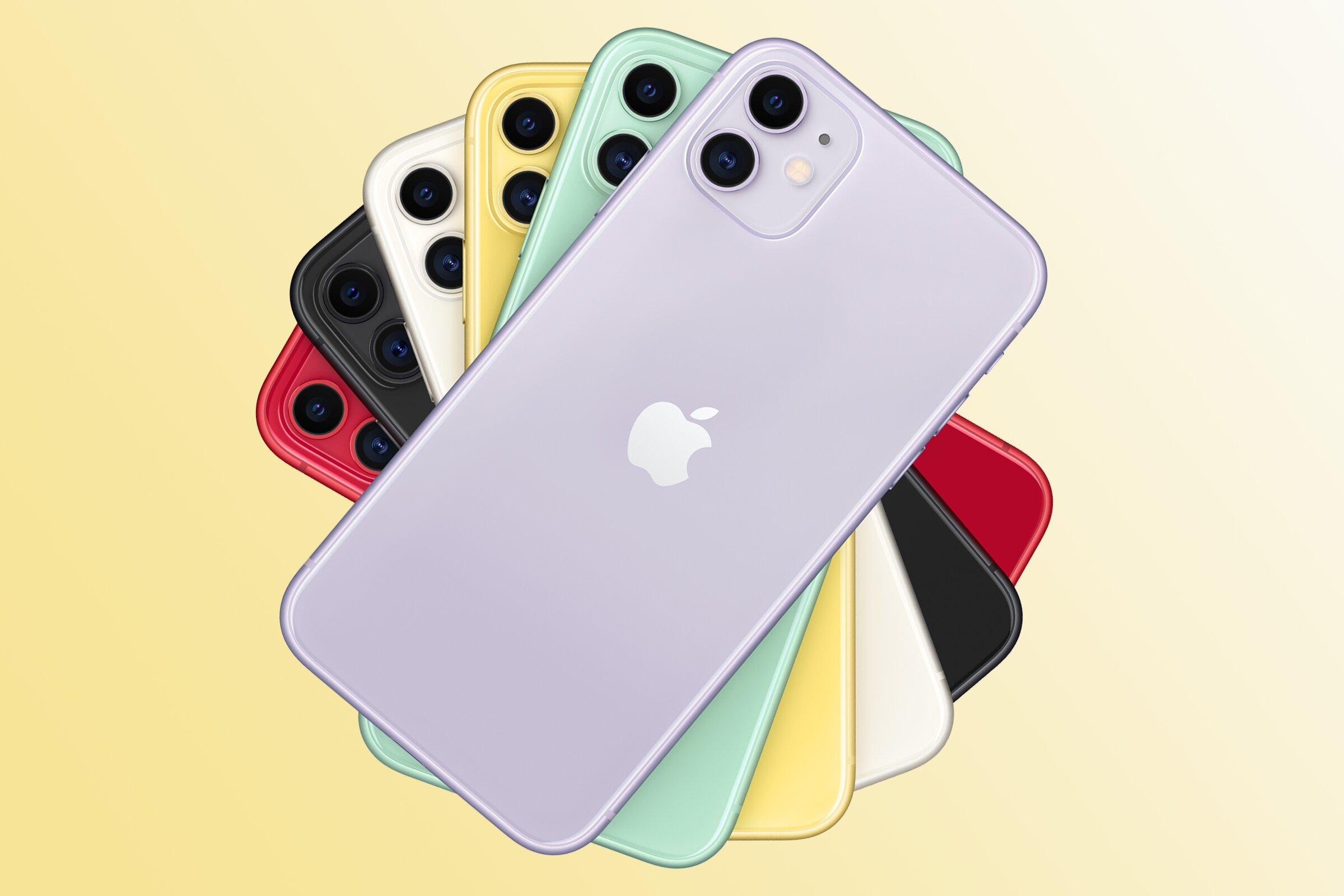 iPhone 11 с объемом памяти 128 Gb стал самым популярным смартфоном у кировчан