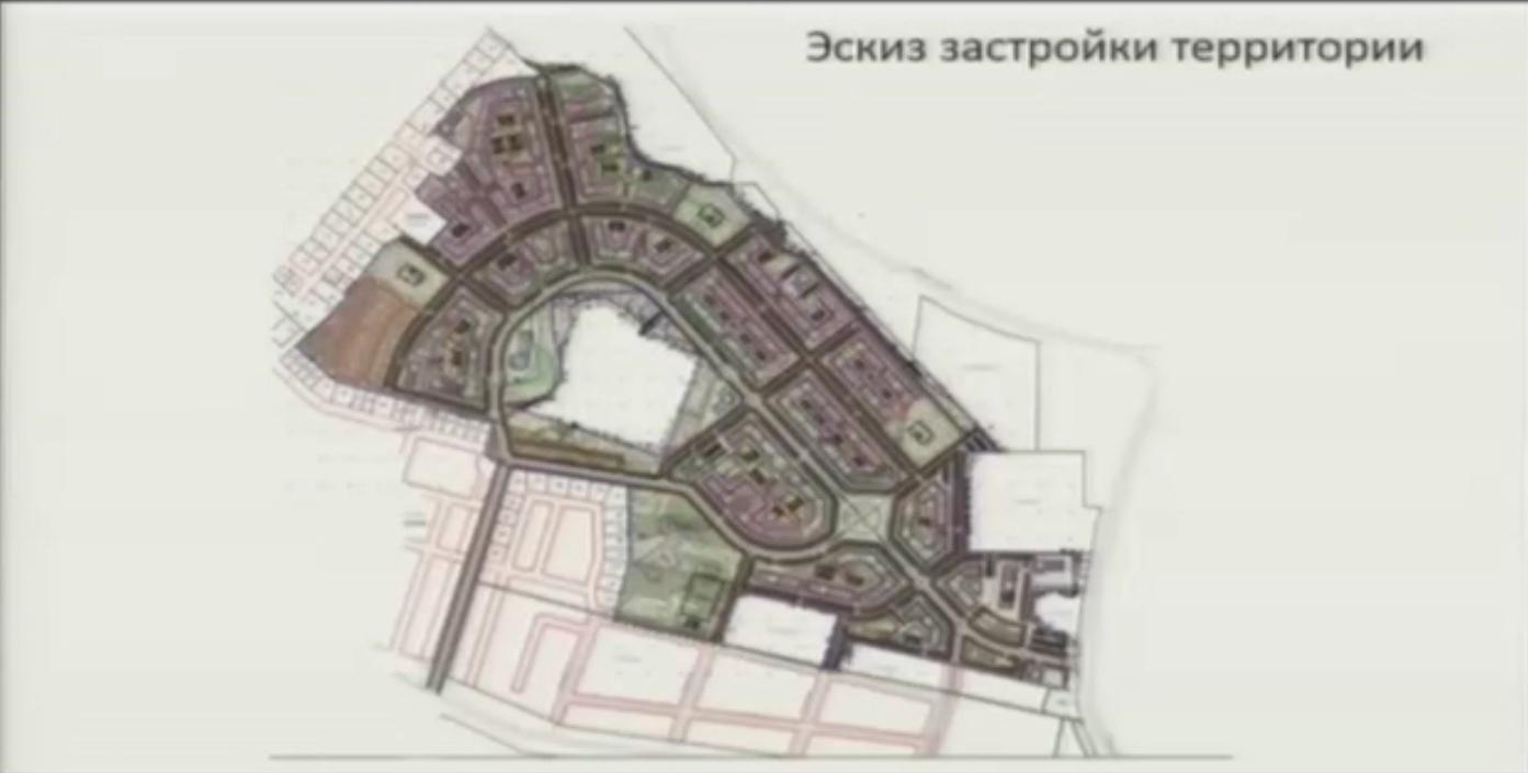 Известны планы развития микрорайона Ганино к 2025 году