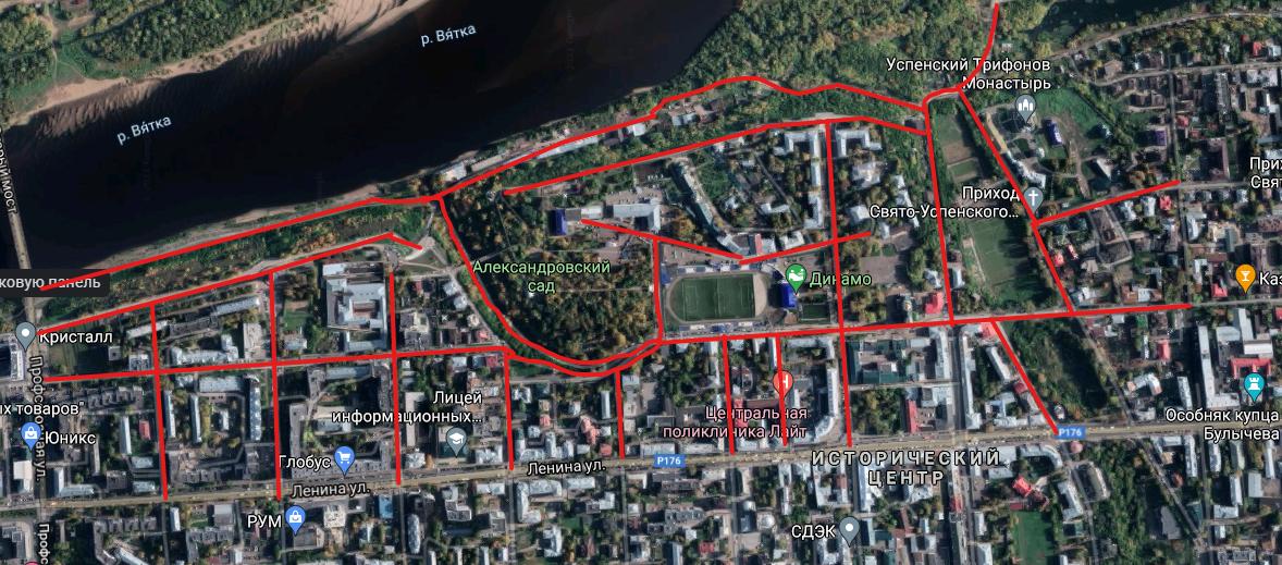 Завтра вечером из-за спортивных соревнований перекроют более десятка различных участков улиц