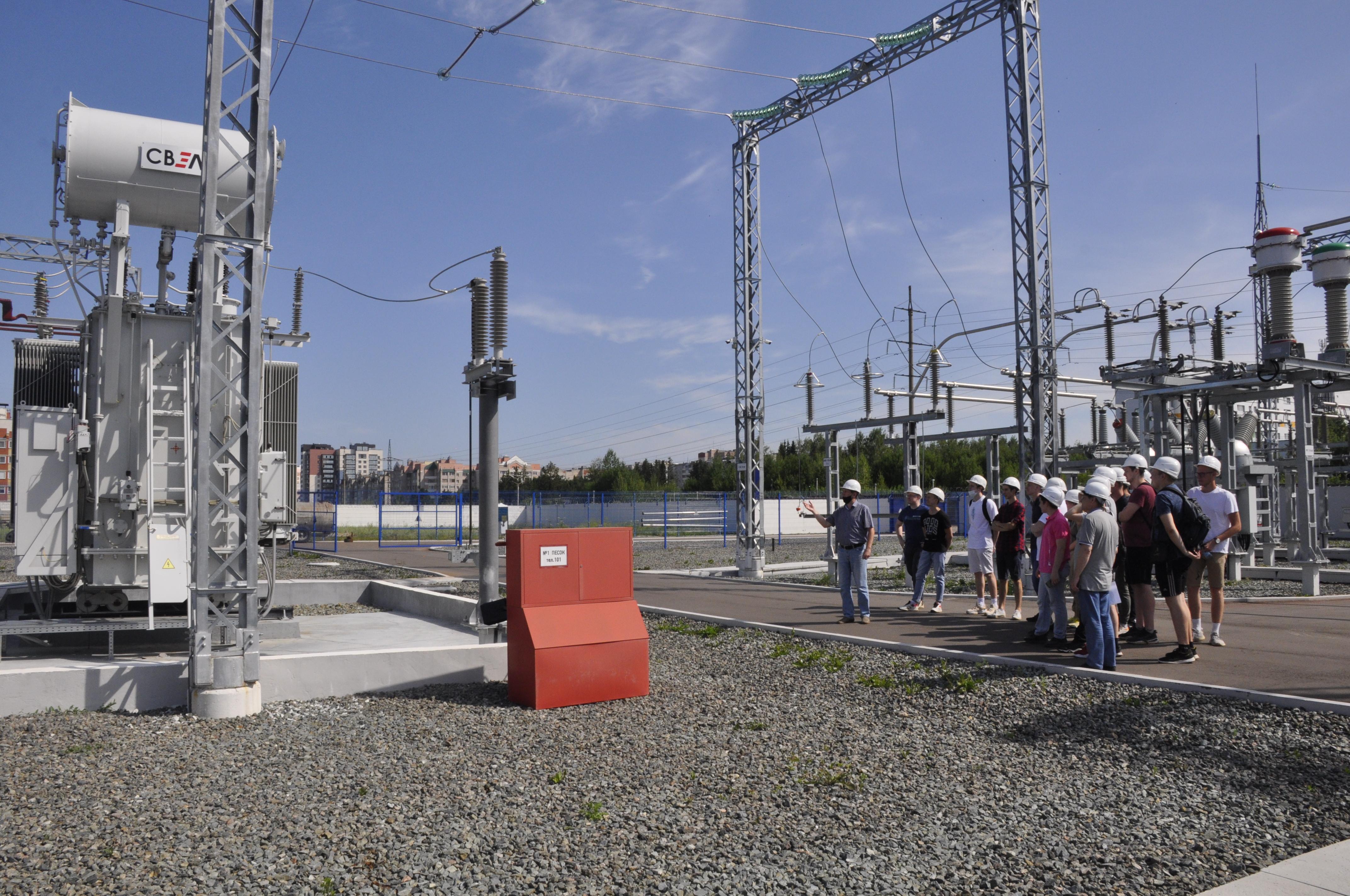 Студенты электротехнического факультета ВятГУ познакомились с объектами «Россети Центр и Приволжье Кировэнерго»
