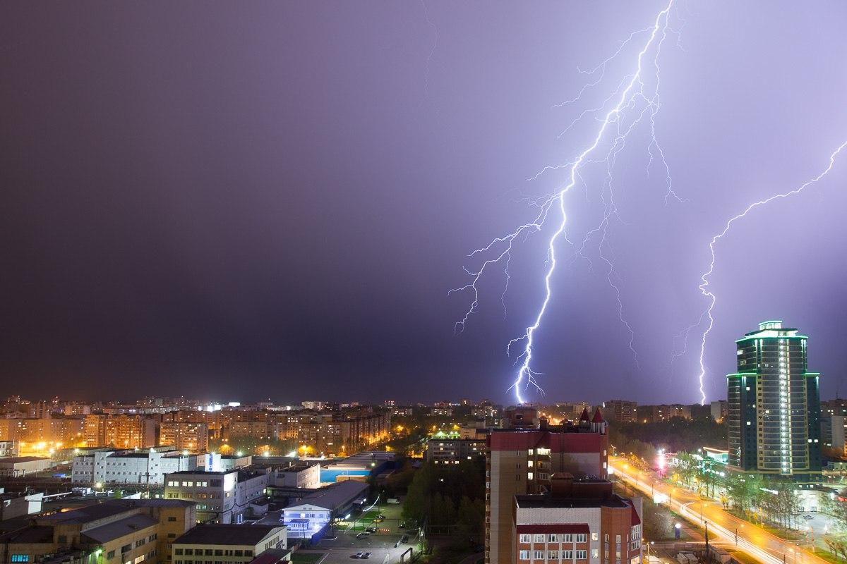 В субботу в Кирове ожидается масштабная гроза