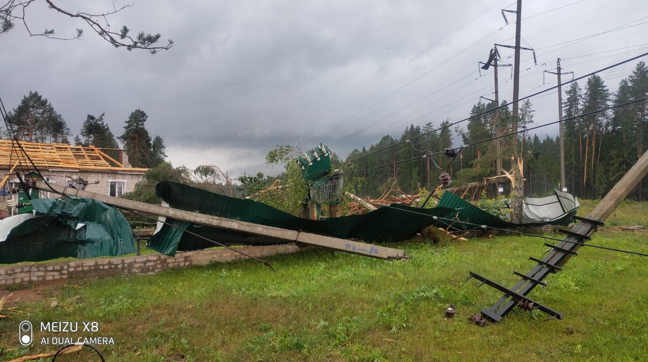 «Россети Центр» и «Россети Центр и Приволжье» ликвидируют последствия урагана в регионах Центрального и Приволжского федеральных округов