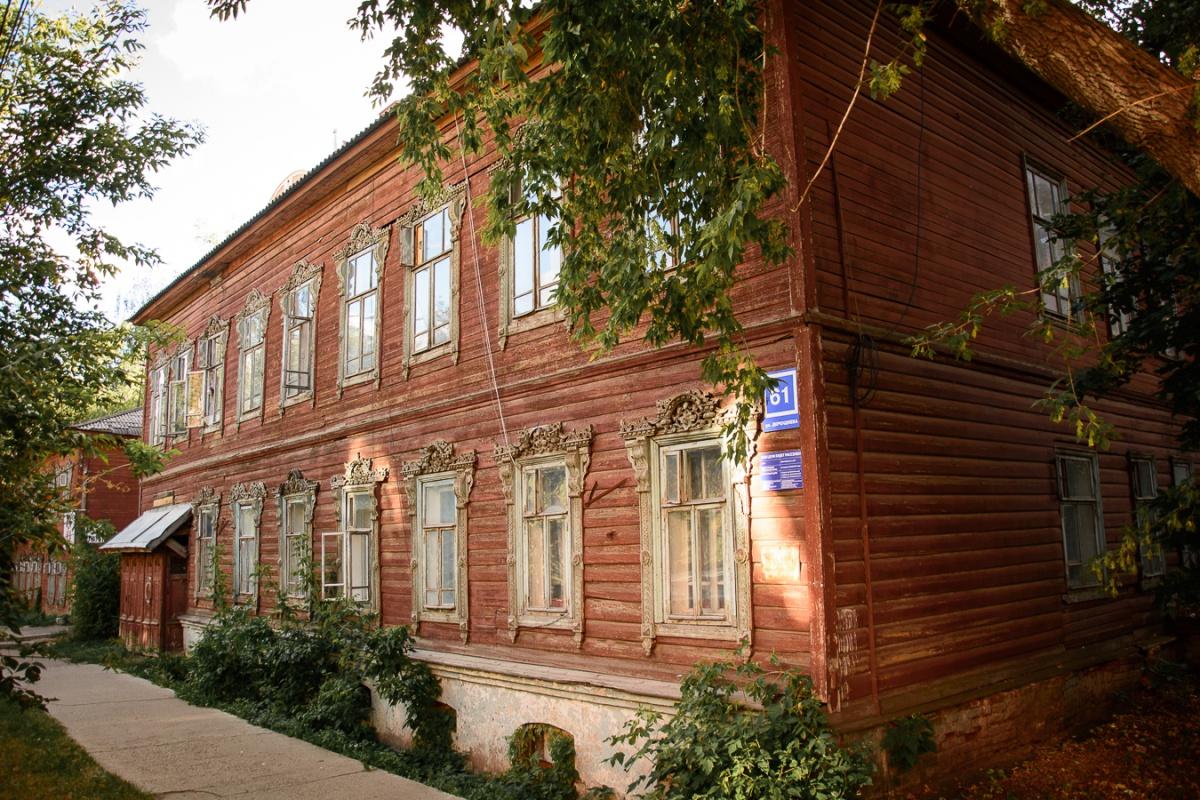 Дом усадьбы Лебедева в центре Кирова реконструируют