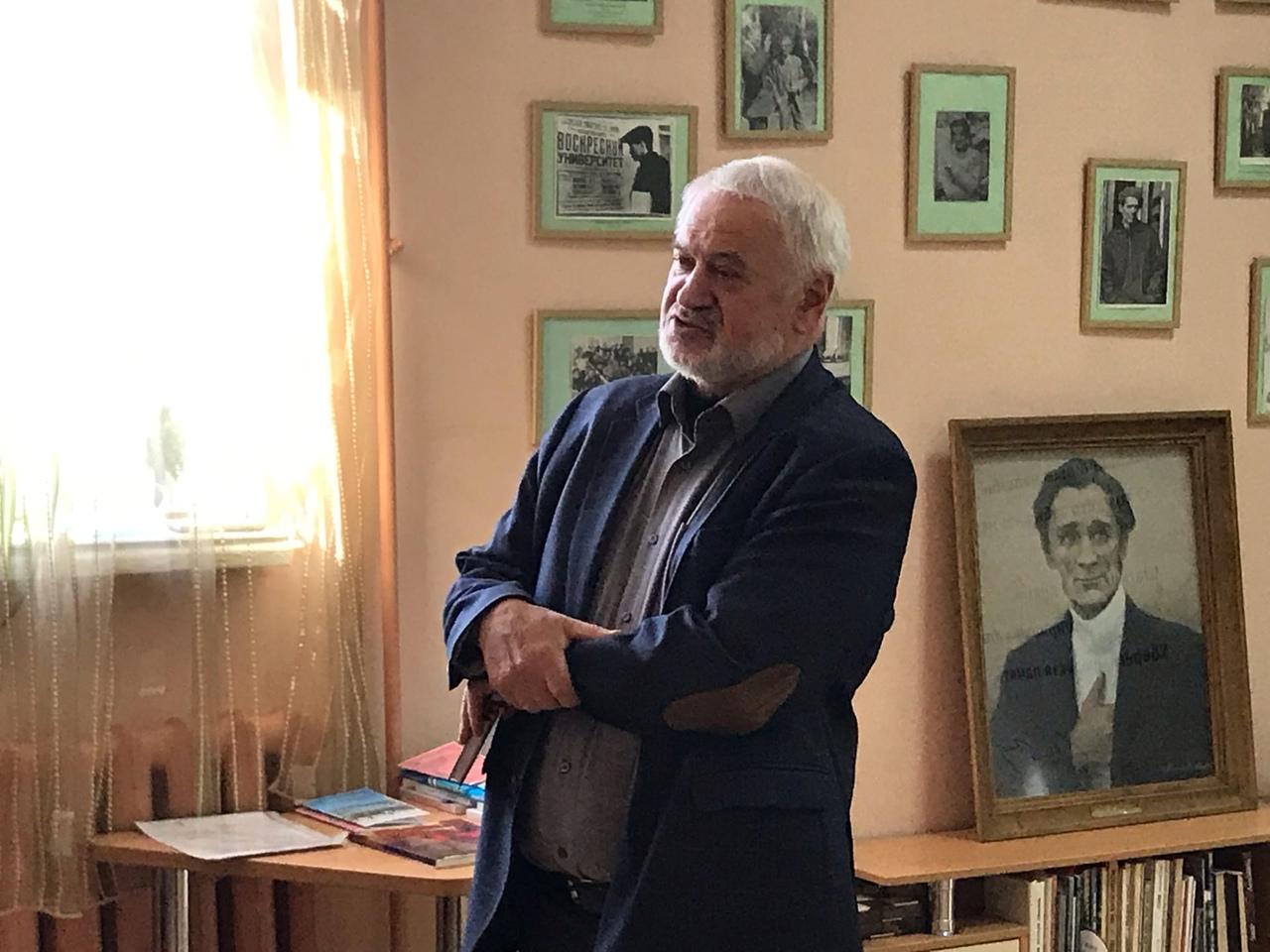 Корифей вятской журналистики Василий Смирнов отмечает свой 70-летний юбилей