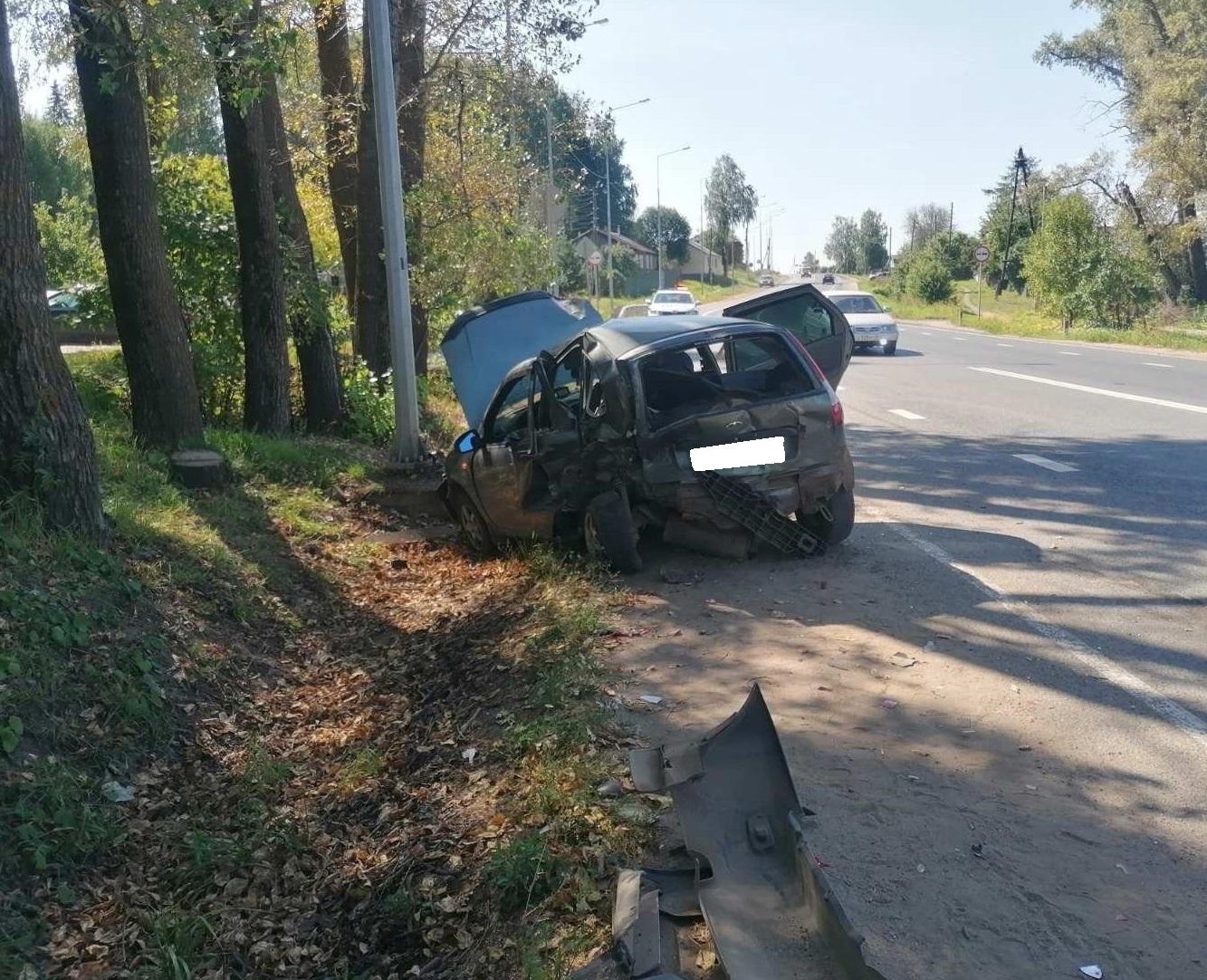 Под Кирово-Чепецком в ДТП пострадали дети. Водитель возможно был пьян