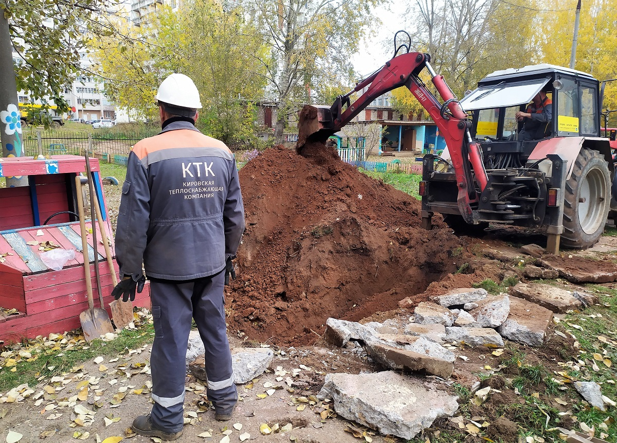 Гидравлические испытания тепловых сетей в Кирове выходят на финальную стадию
