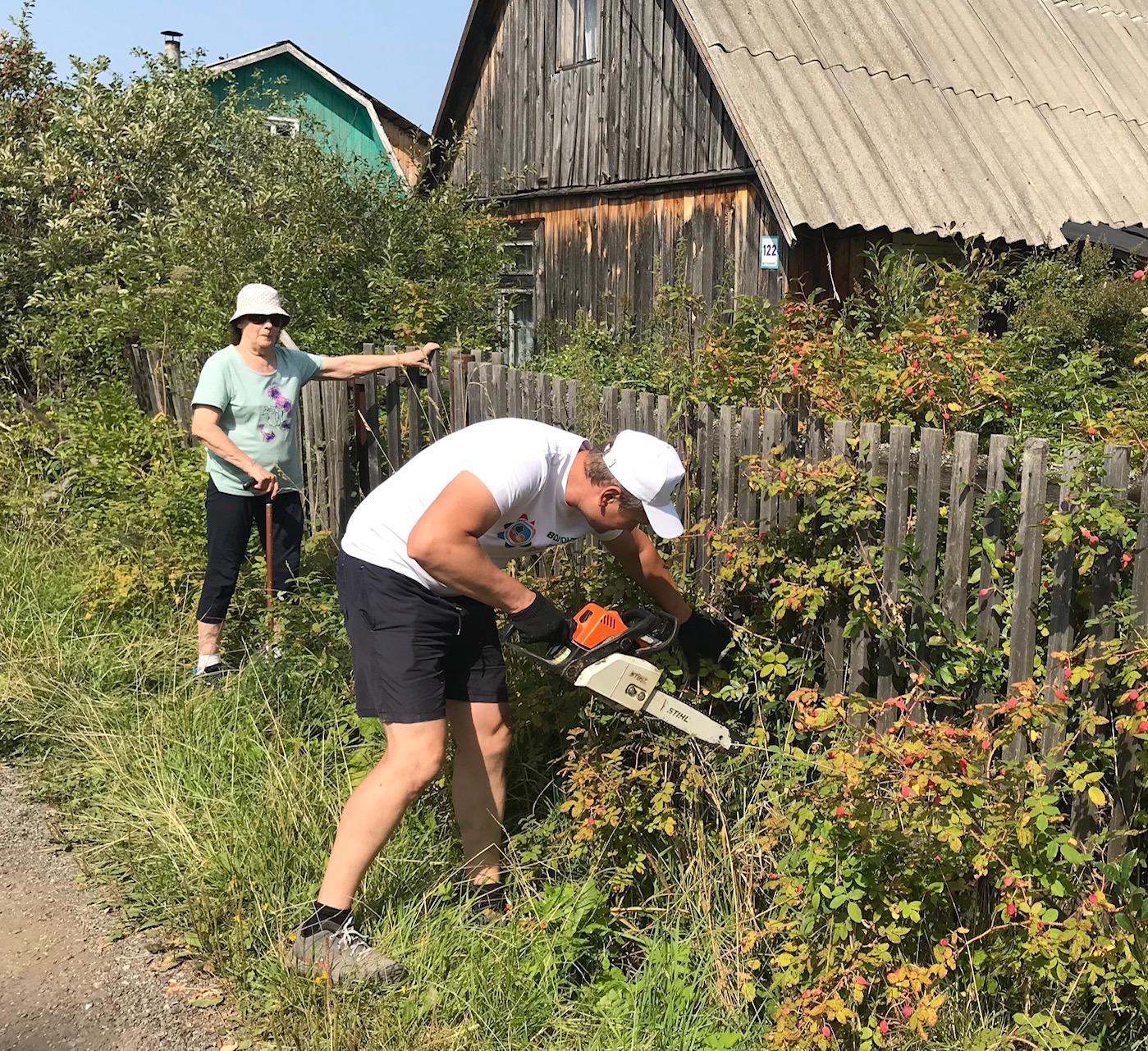 Волонтеры Союза садоводов России — Тимуровцы наших дней