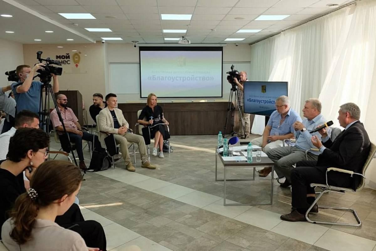 Игорь Васильев обсудил с общественниками вопросы благоустройства территорий