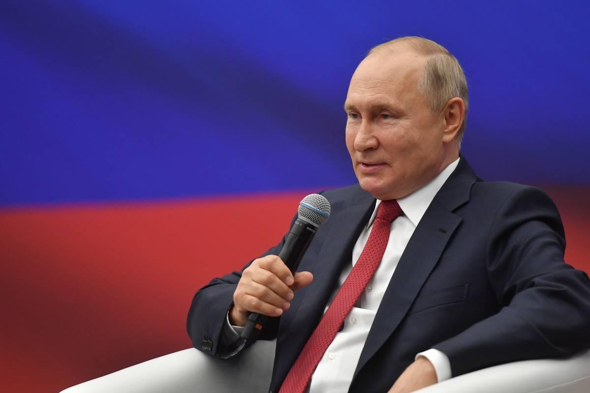 Владимир Путин: Я рассчитываю, что «Единая Россия» сохранит свои позиции после выборов