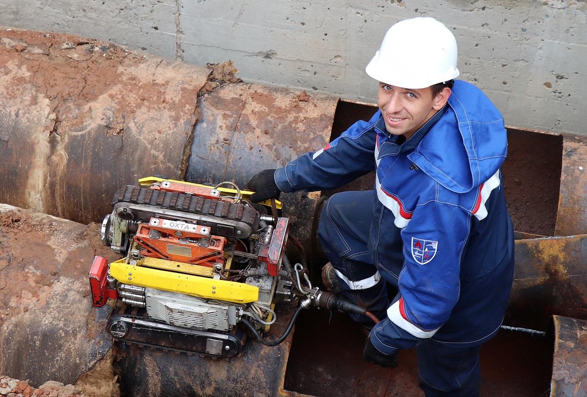 «Т Плюс» провел диагностику магистральных трубопроводов в Кирове с использованием робота