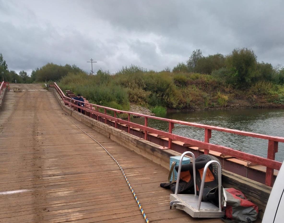 В Кирово-Чепецке обследуют понтонный мост в Каринторф