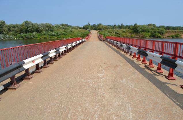 Наплавной мост на Каринторф откроют вечером, 4 сентября