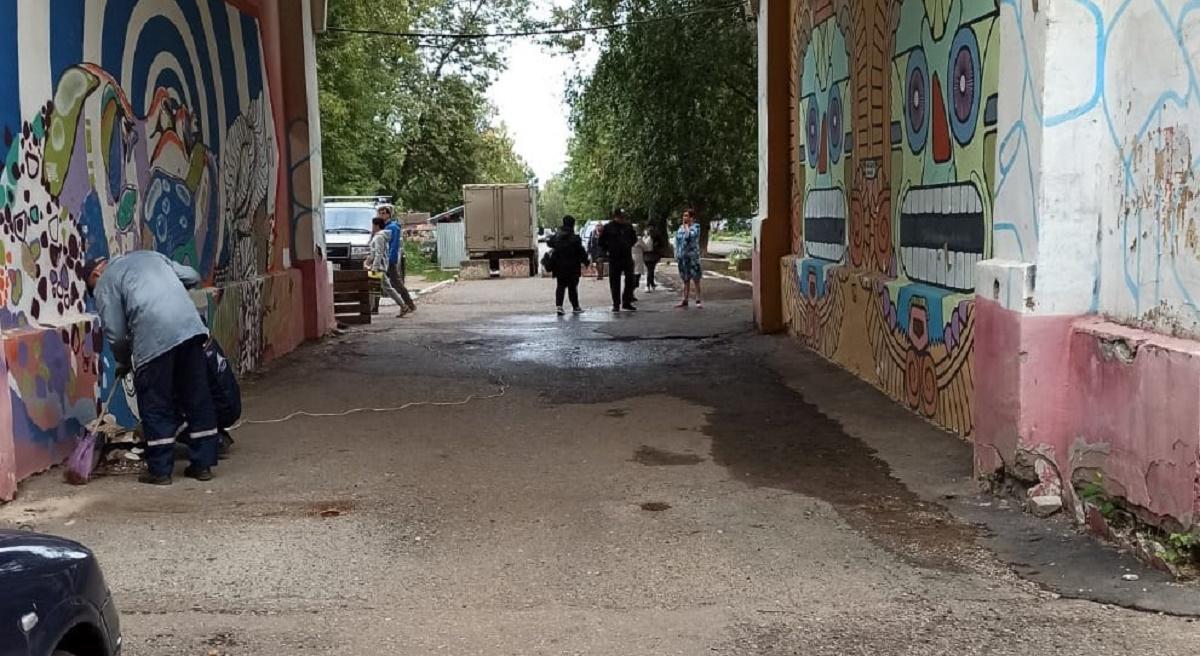 Арка на Октябрьском проспекте будет открыта для проезда